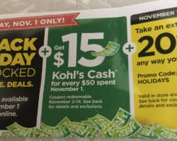 Kohls Black Friday Preview