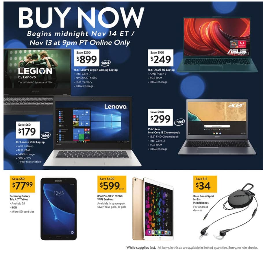 Early Walmart Black Friday Deals