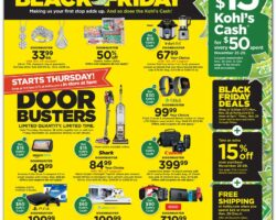 Kohls Black Friday Ad 2019