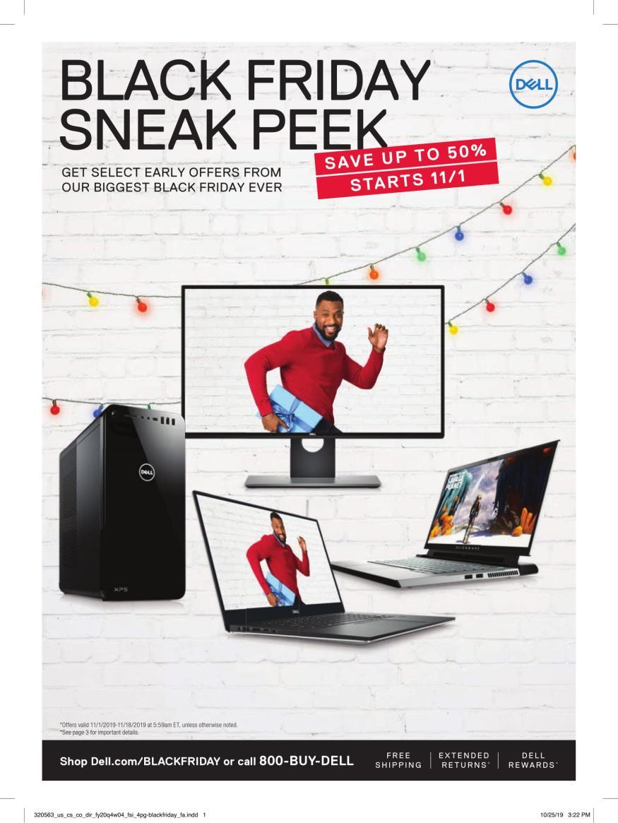 Dell Black Friday Deals 2019