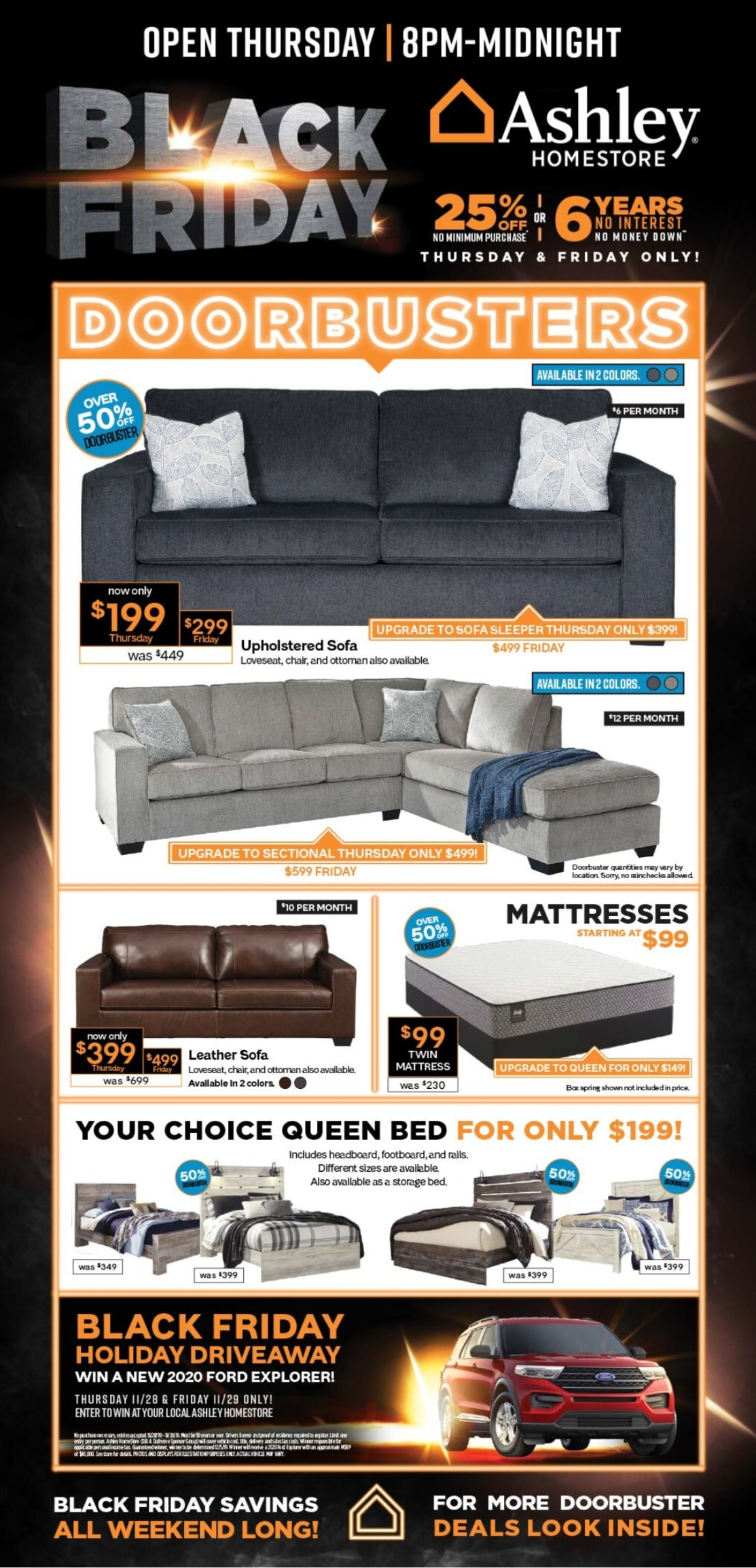 ashley furniture black friday 2019 mattress