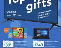 Walmart 3 Day Event 2019. Top Gifts