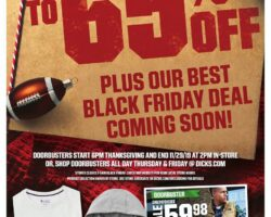 Dick's Sporting Goods Black Friday Ad 2019
