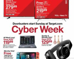 Target Cyber Monday 2019
