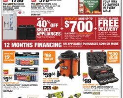 Home Depot Black Friday Flyer Deals 2020