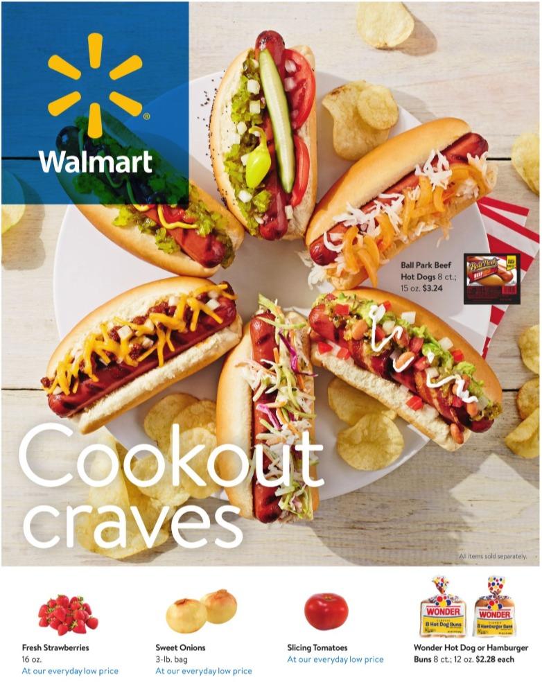 Walmart Weekly Ad May 22 – June 23, 2020. Summer Savings