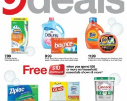 Target Weekly Ad May 31 - June 6, 2020. Mix In Savings!