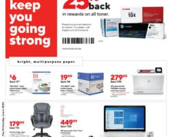 Staples Weekly Ad May 31 - June 6, 2020