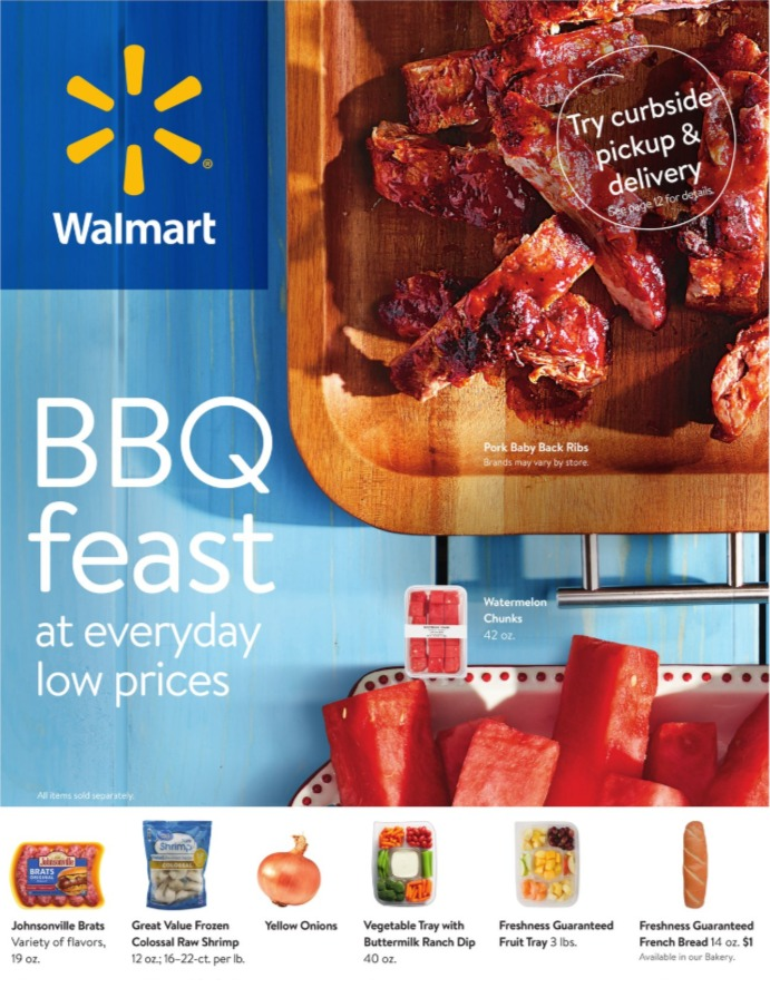 Walmart Weekly Ad June 24 - July 28, 2020. Summer Savings