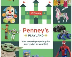 JCPenney Weekly Ad October 26 - November 19, 2020. Toybook