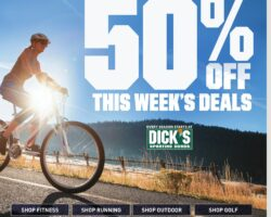 Dick's Weekly Ad May 24 - May 30, 2020. Up To 50% Off Sale!