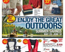 Bass Pro Shops Weekly Ad May 28 - June 10, 2020. Summer Deals