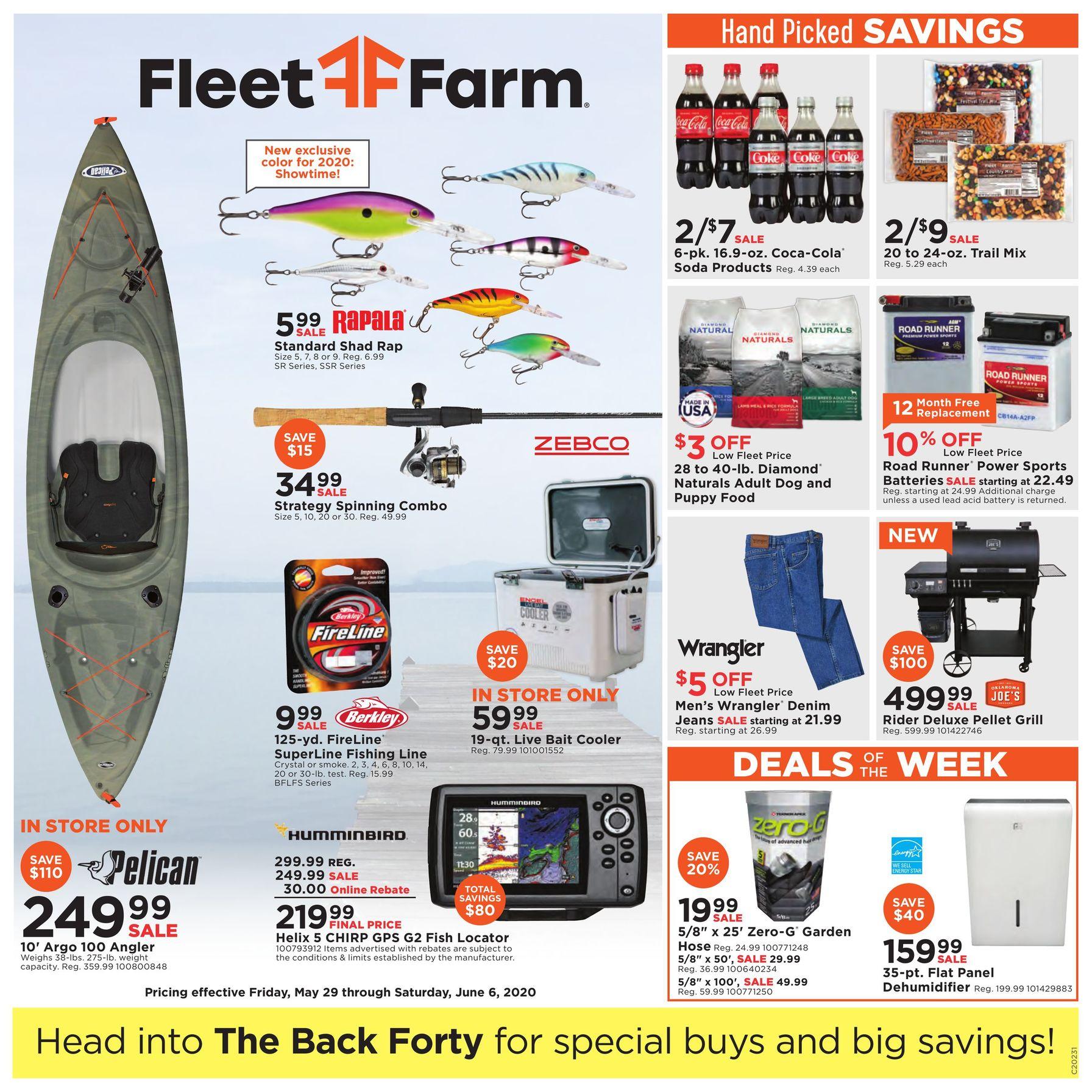 Fleet Farm Weekly Ad May 29 – June 6, 2020