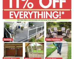 Menards Weekly Ad May 31 - June 6, 2020. 11% OFF Everything