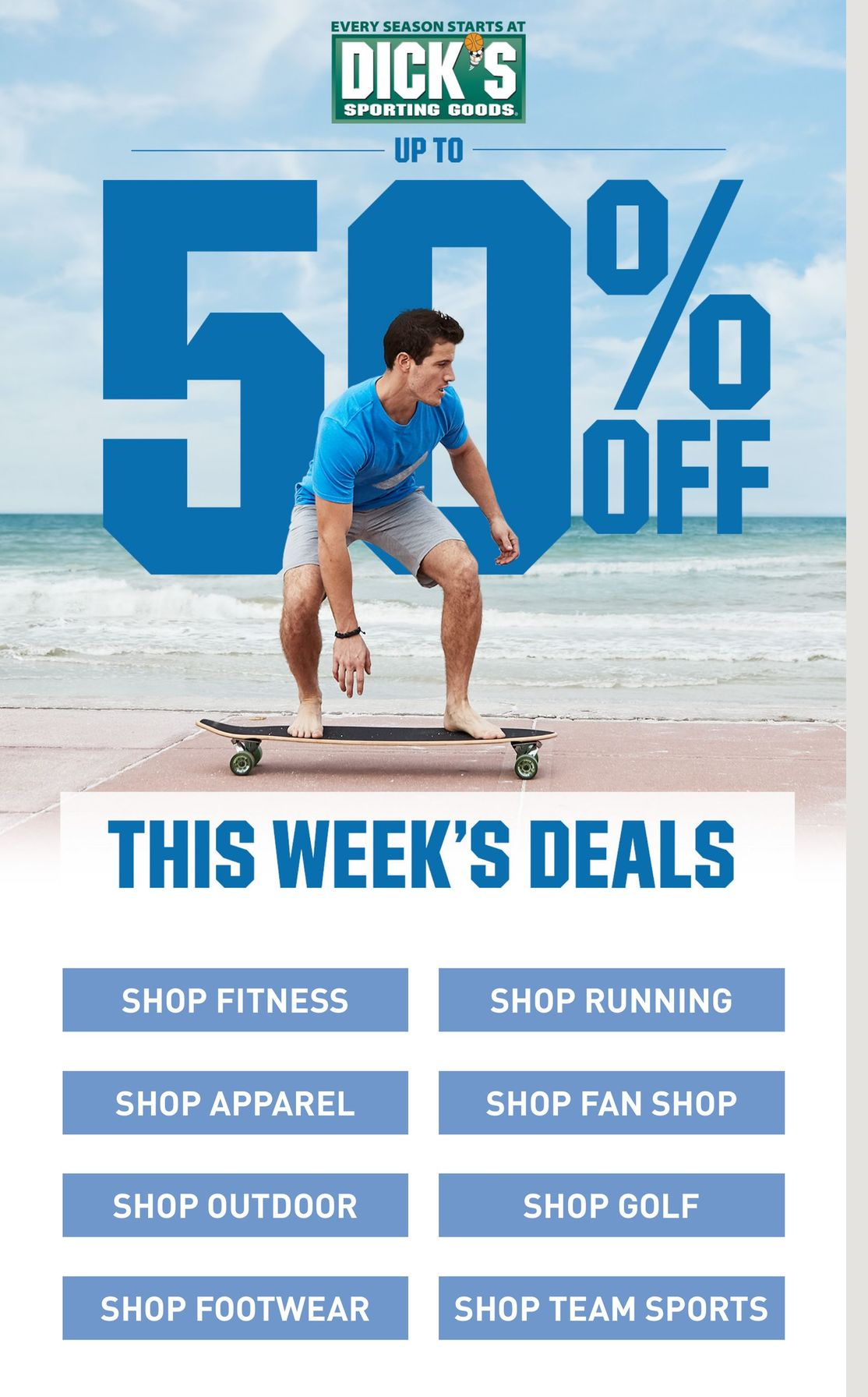 Dick's Weekly Ad July 5 - July 11, 2020. Up To 50% OFF!