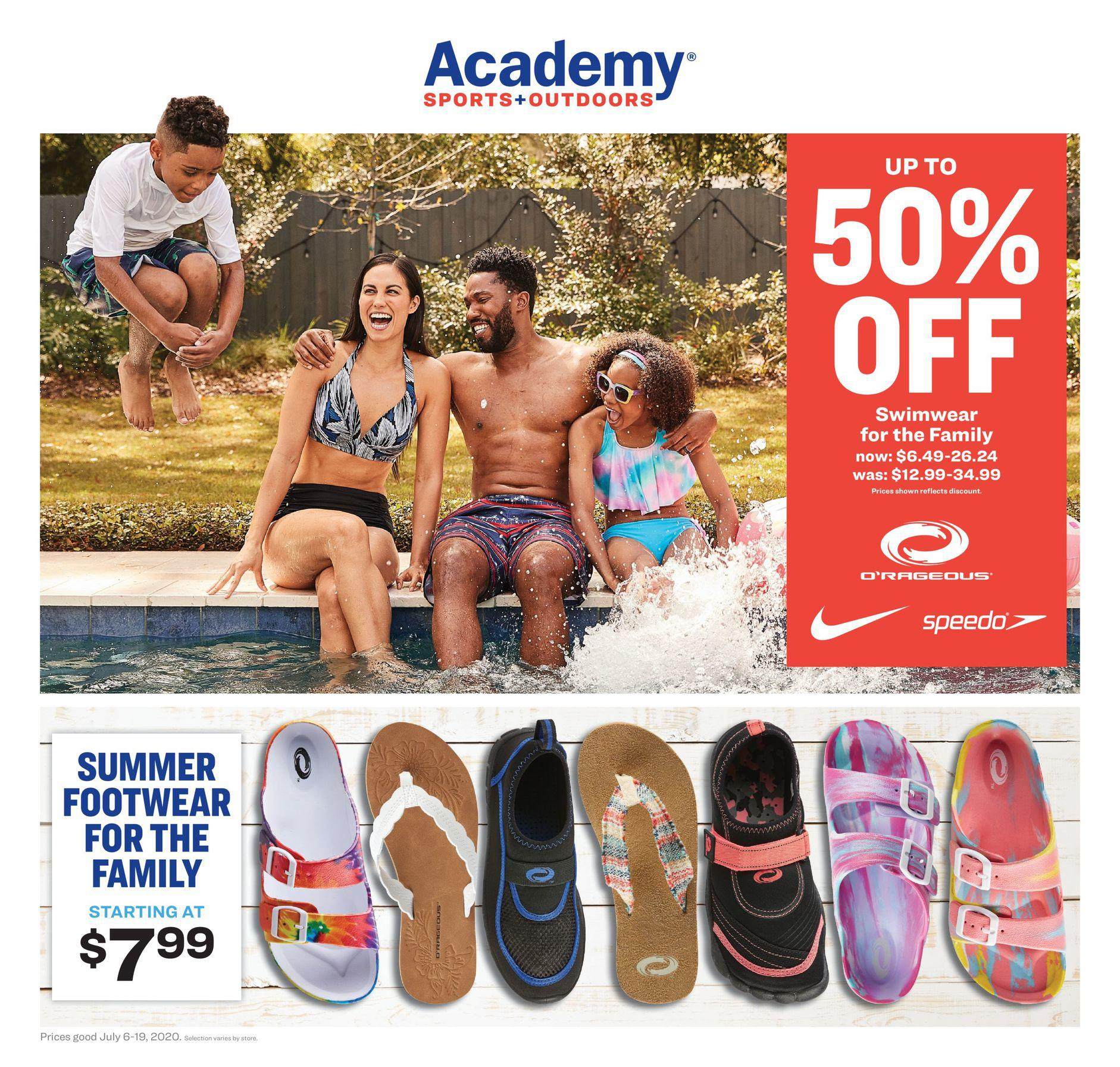 Academy Sports Weekly Ad July 6 - July 19, 2020. Ready For Adventure!