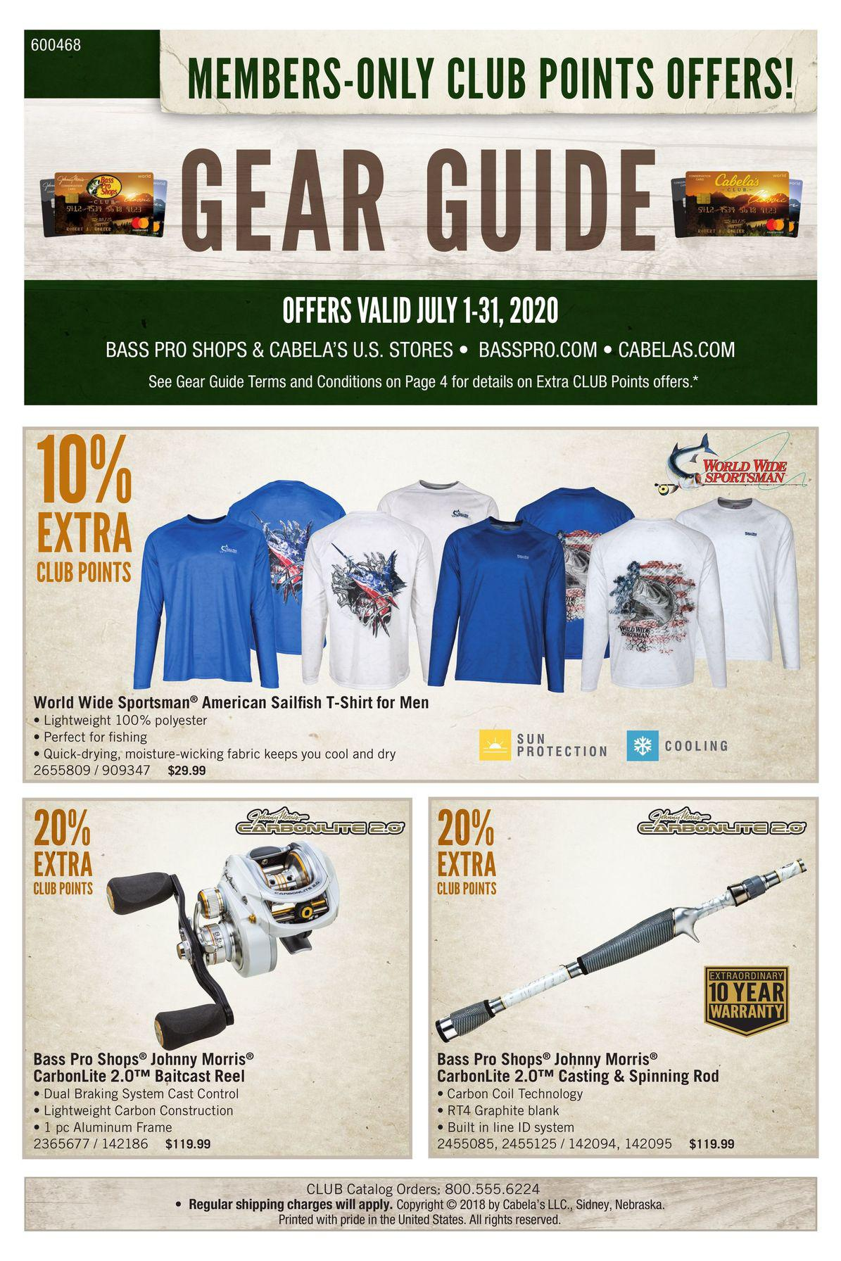 Bass Pro Shops Weekly Ad July 1 - July 31, 2020