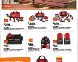 Home Depot Ad Weekly Ad July 6 - July 9, 2020. Tools Special Buys!