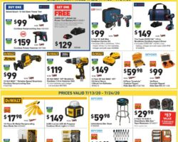 Lowe's Weekly Ad July 9 - July 24, 2020. Just 4 Pros Event!