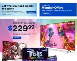 Best Buy Weekly Ad July 10 - July 12, 2020