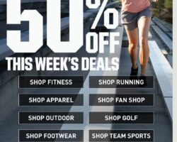 Dick's Weekly Ad August 2 - August 8, 2020. Up to 50% Off Deals!