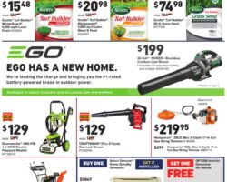 Lowe's Weekly Ad September 17 - September 30, 2020. Bring On Fall!