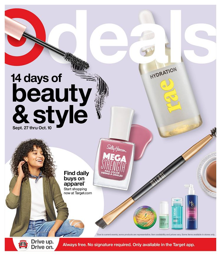 Target Weekly Ad September 27 - October 3, 2020. Free $10 Gift Card