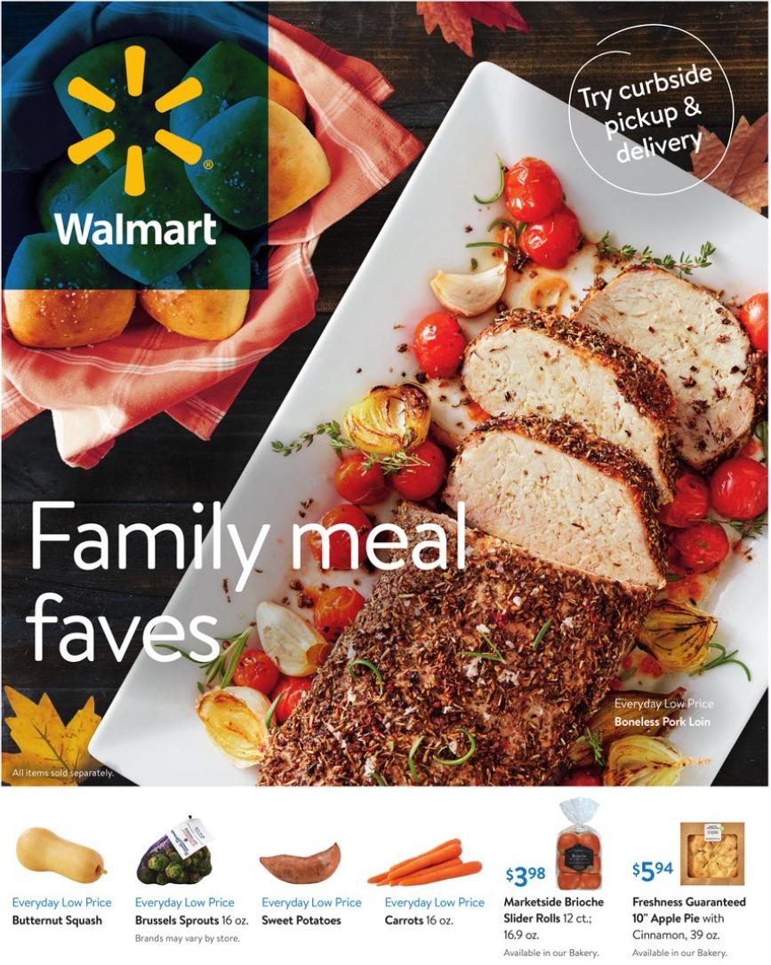 Walmart Weekly Ad September 30 - October 27, 2020. Winning Prices