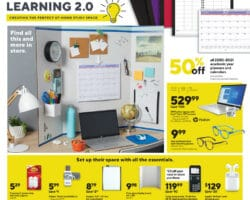 Staples Weekly Ad September 13 - September 19, 2020. 40% Back in Rewards!
