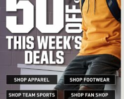 Dick's Weekly Ad September 20 - September 26, 2020. Up to 50% Off Deals!