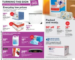 Staples Weekly Ad October 25 - October 31, 2020