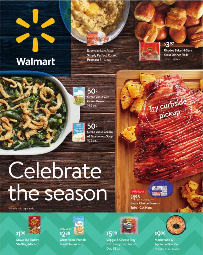 Walmart Ad Sales December 1 - December 24, 2020. Celebrate The Season!
