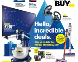 Best Buy Black Friday Sale Ad 2020