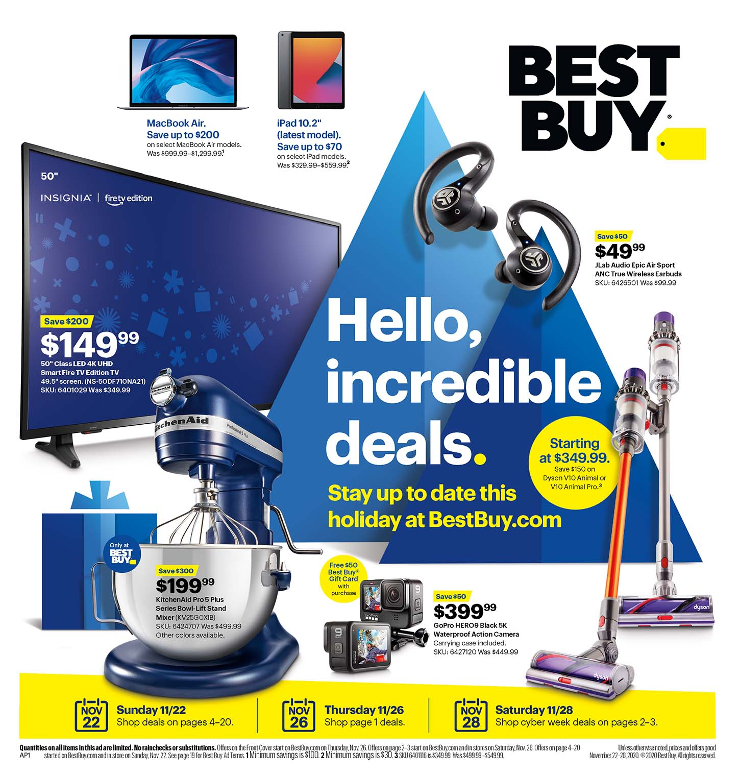 Best Buy Black Friday Sale Ad 2020