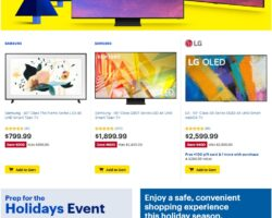 Best Buy Weekly Ad October 23 - October 25, 2020. Black Friday Prices