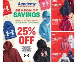 Academy Sports Weekly Ad November 16 - November 21, 2020