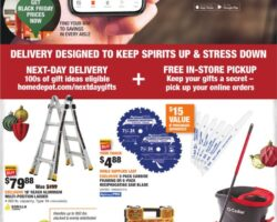 Home Depot Black Friday Deals 2020