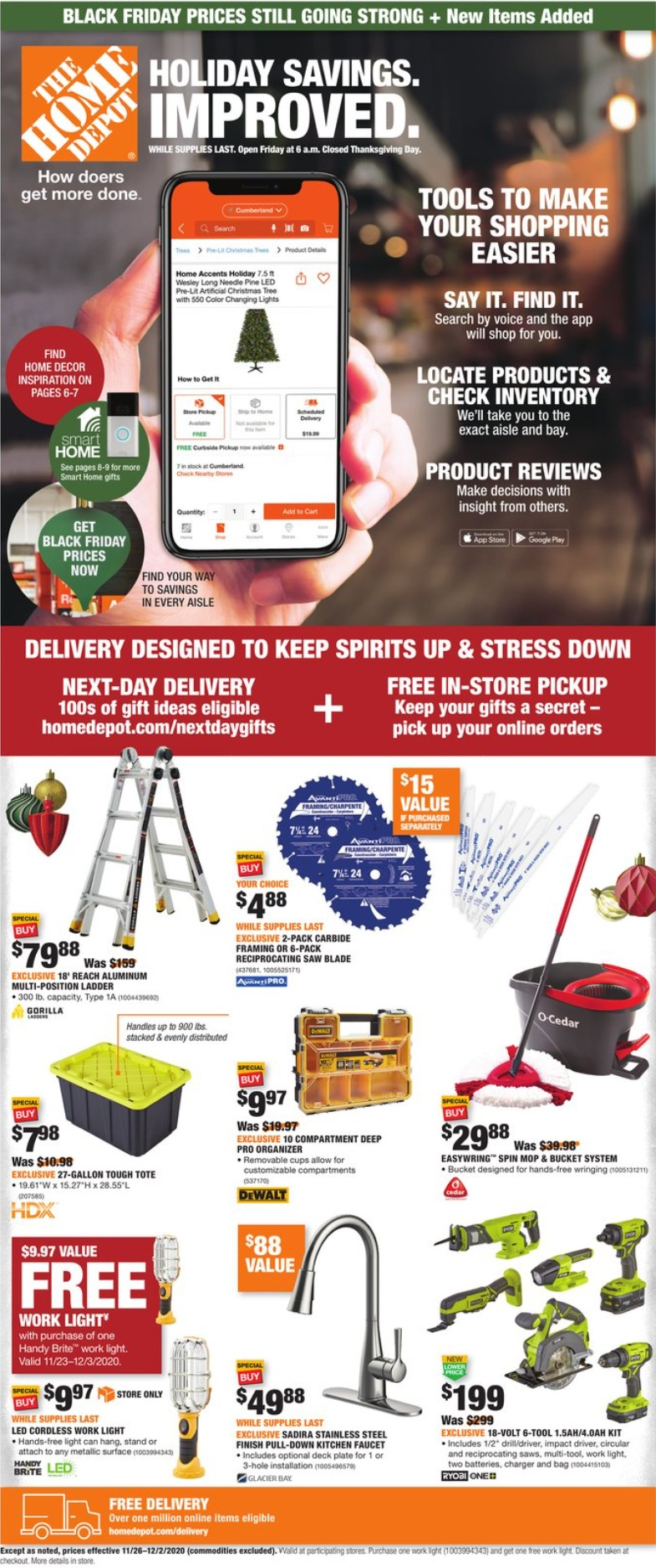 Home Depot Black Friday Deals 2020