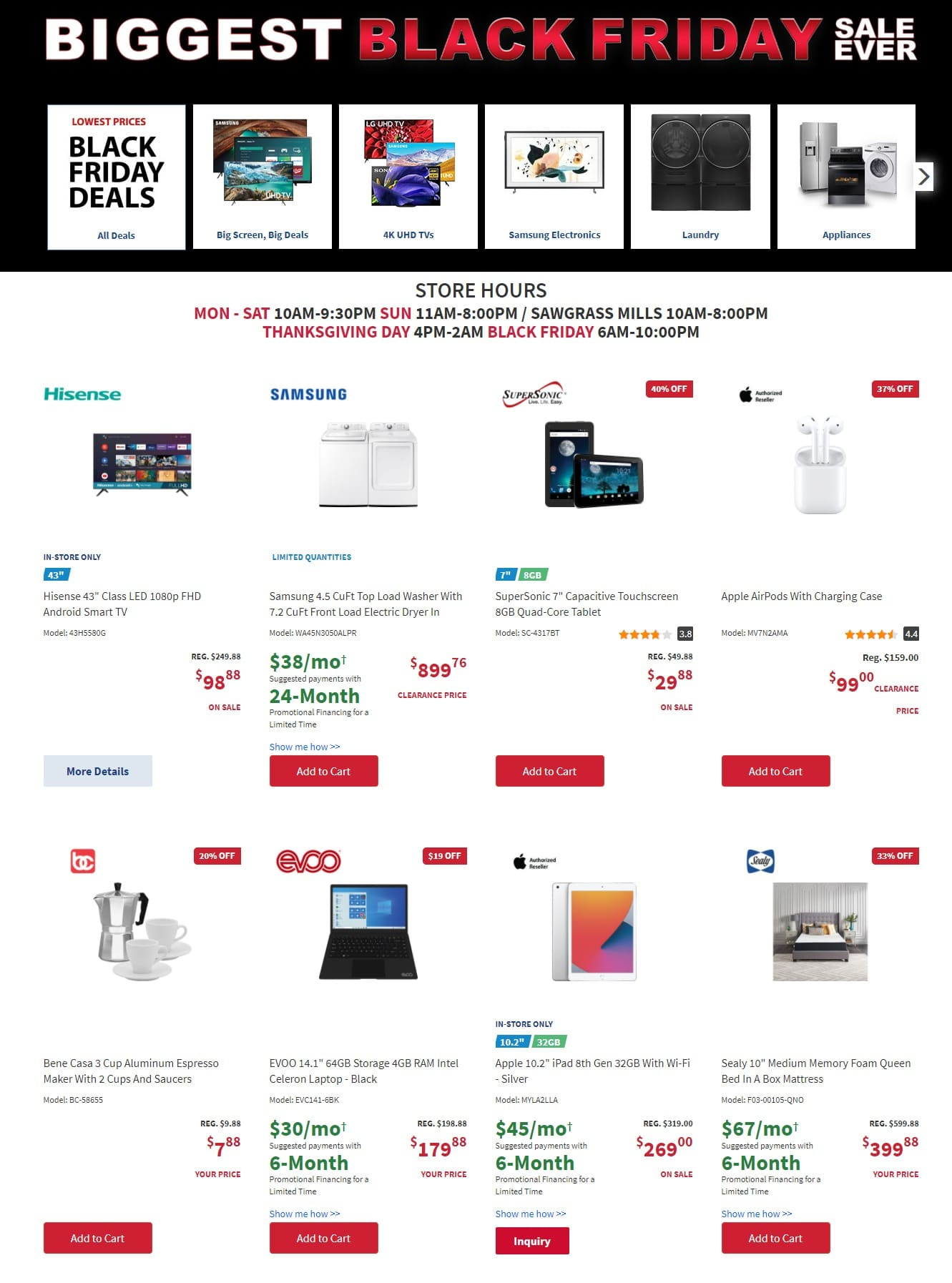 BrandsMart U.S.A. Black Friday Sale 2020