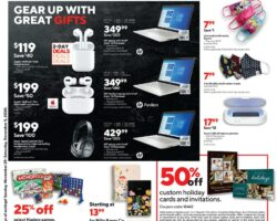 Staples Cyber Week Sales Ad 2020