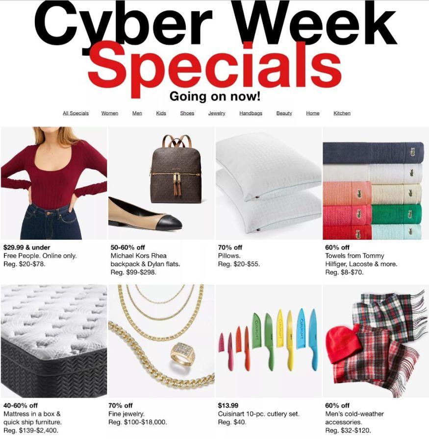 Macy's Cyber Monday Deals 2020