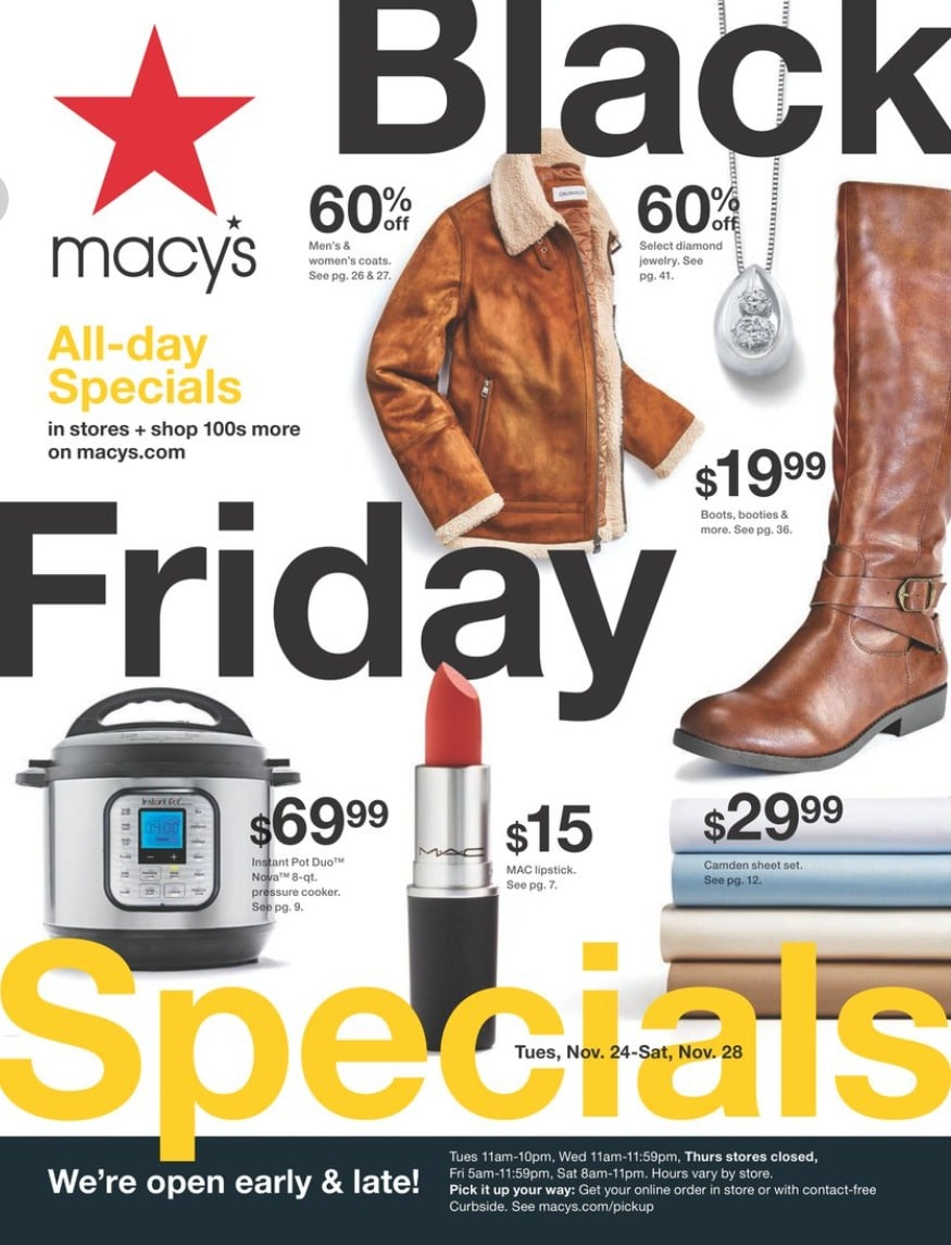 Macy's Black Friday Ad 2020