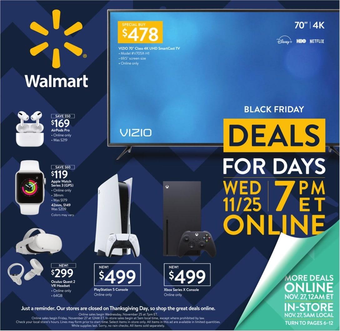 Walmart Black Friday Sales Ad 2020