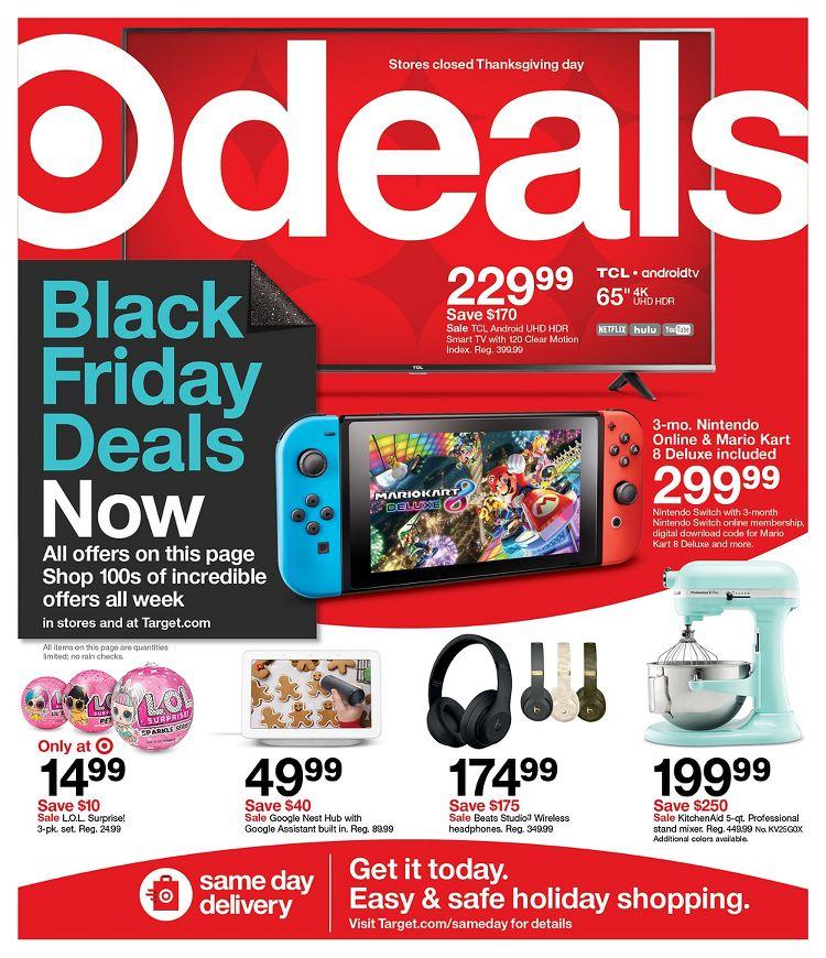 Target Black Friday Ad 2020