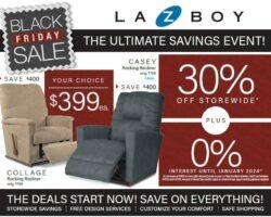La-Z-Boy Black Friday 2020