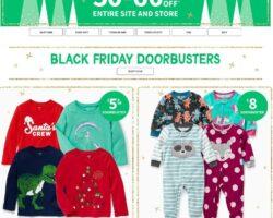 Carter's Black Friday Sales Ad 2020