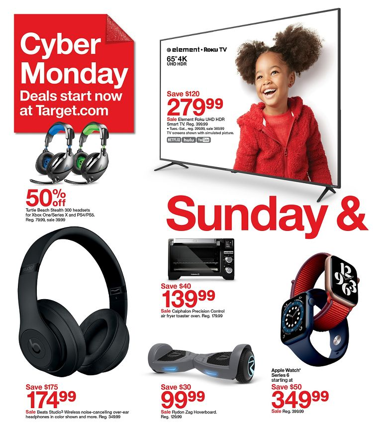 Target Cyber Monday Deals 2020