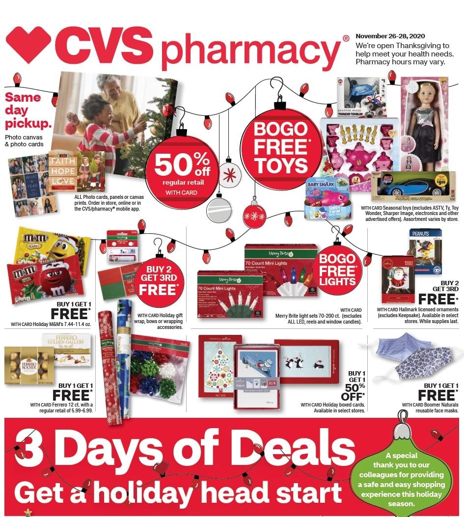 CVS Black Friday Ad 2020