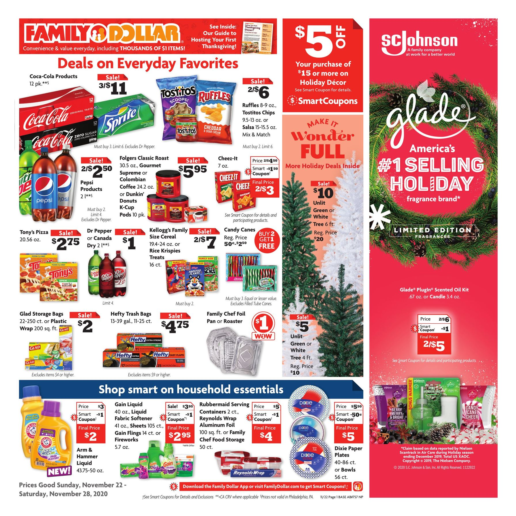 Family Dollar Black Friday Sales Ad 2020