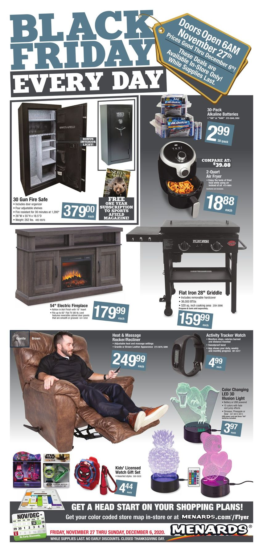 Menards Black Friday Sales Ad 2020
